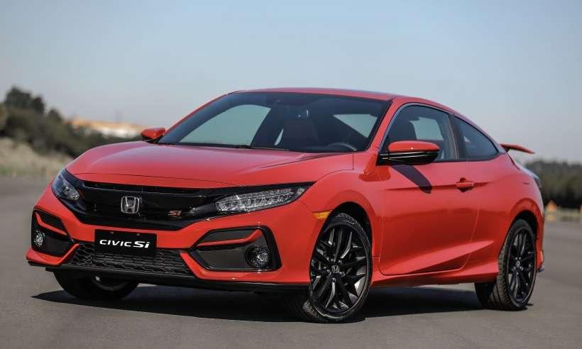 Honda inicia as vendas do Civic Si em versão única por R$ 179.900