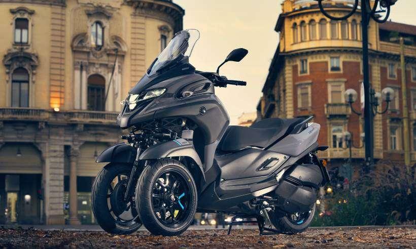 Confira os detalhes da Yamaha Tricity 300, scooter de três rodas