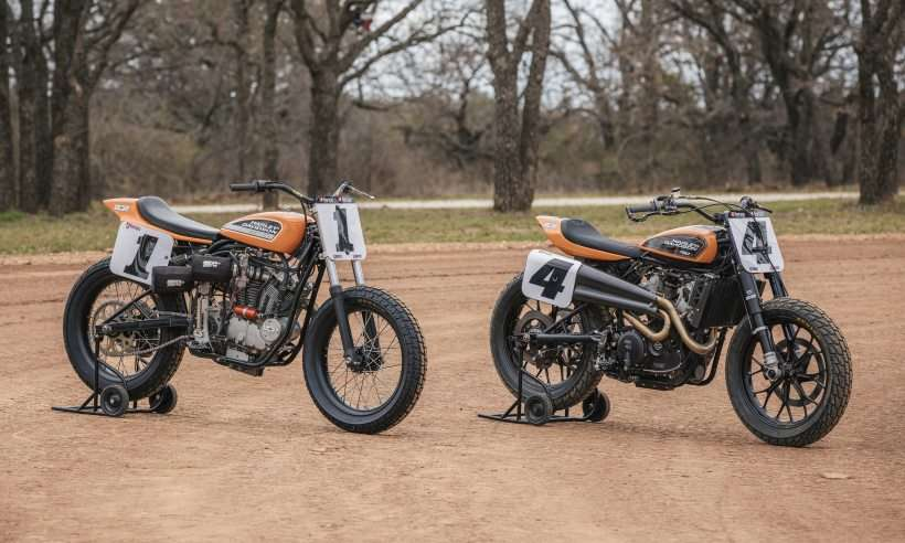 A cinquentona Harley-Davidson XR 750 marcou uma época e serviu de inspiração