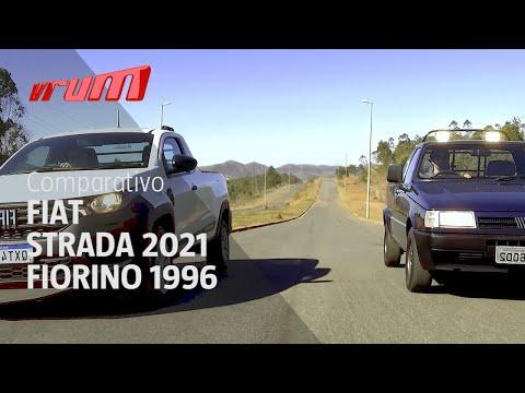 Comparamos a Fiat Strada 2021 com a Fiorino 1996! Quem ganha?