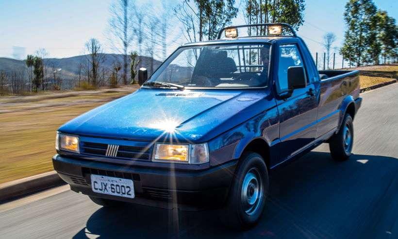 Confira nossa experiência com uma Fiorino Trekking 1996 do acervo da Fiat