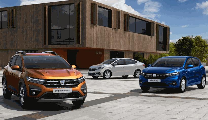 A Dacia revela na Europa imagens dos novos Sandero, Stepway e Logan 2021