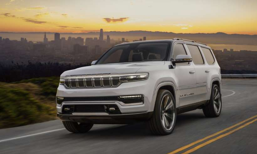 Conheça o Grand Wagoneer, modelo que pretende elevar a Jeep ao padrão Range Rover de sofisticação