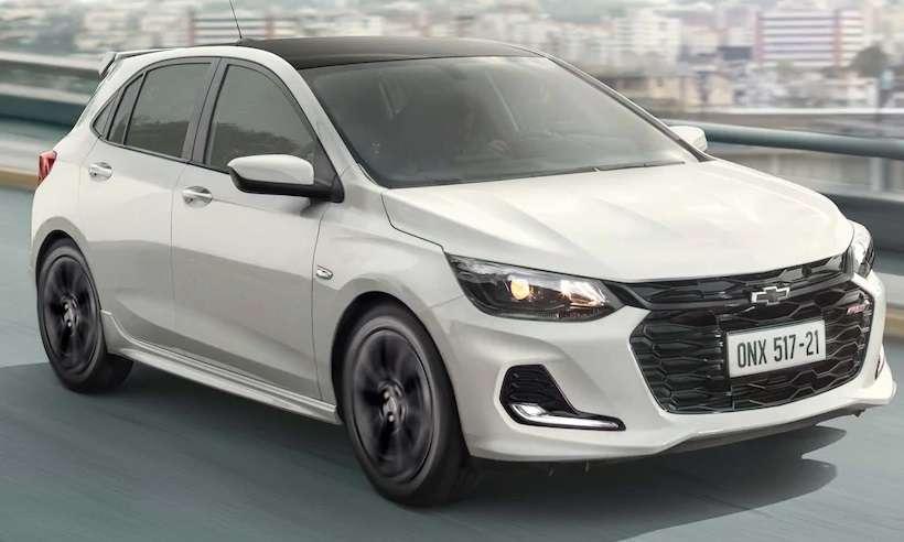 Chevrolet lança na próxima semana o Onix RS e Onix Plus Midnight