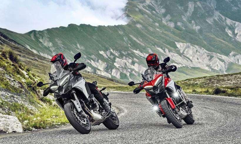 Ducati Multistrada V4 ganha novo motor e tecnologia que detecta aproximação