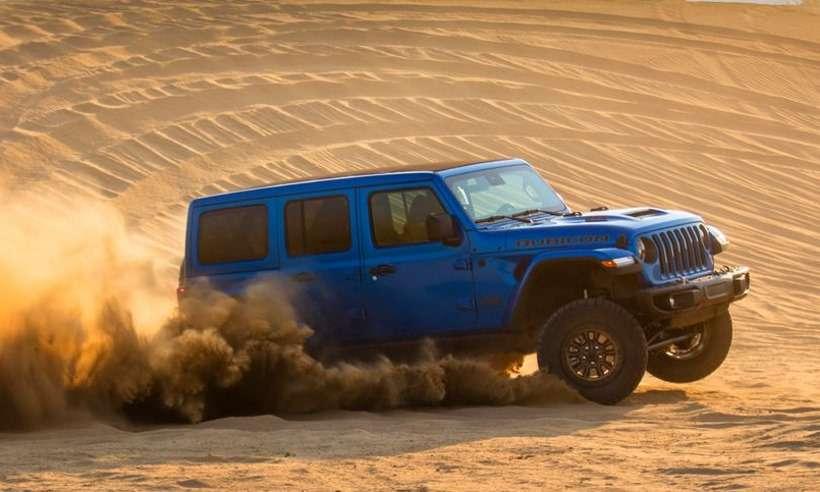 Novo Jeep Wrangler Rubicon 392 traz um V8 com força de sobra na terra e no asfalto