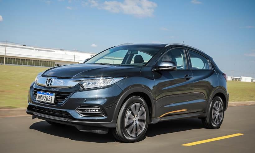 Linha 2021 do Honda HR-V tem poucas novidades, mas custa até R$ 6.200 a mais