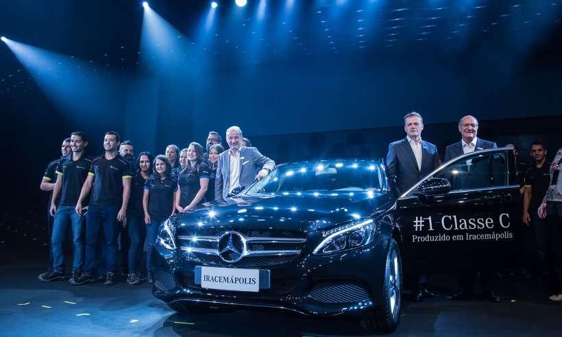 Mercedes encerra produção dos modelos Classe C e GLA em Iracemápolis (SP)