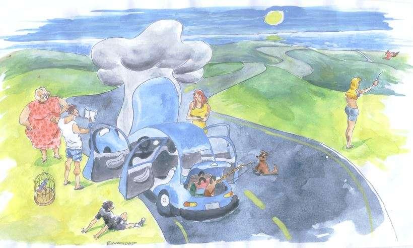 Seu carro está preparado para pegar estrada? Confira esse checklist