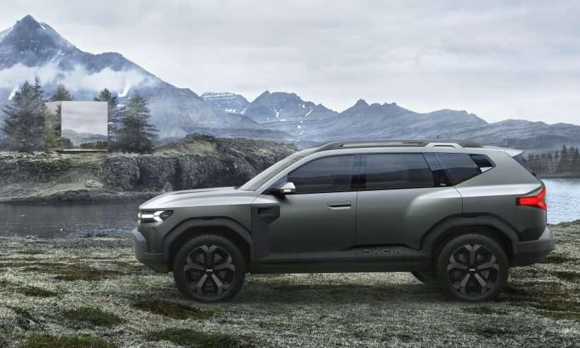 Dacia apresenta o Bigster, conceito de SUV médio com preço de compacto