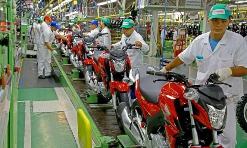 A Moto Honda Amazônia suspende a produção até o dia 3 de fevereiro