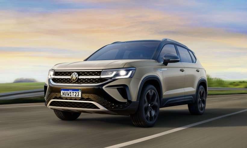 VW revela novos detalhes do SUV médio Taos, que chega no segundo trimestre