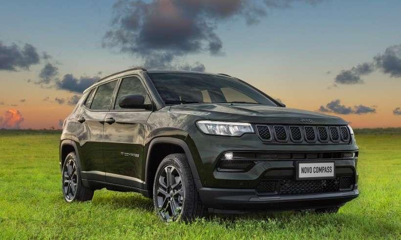 Jeep inicia a pré-venda do novo Compass com preço sugerido de R$ 162.990