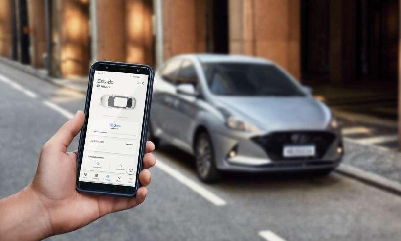 Hyundai HB20 ganha sistema de conectividade Bluelink por R$ 29,90 mensais