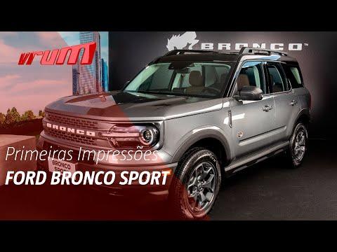 Ford Bronco Sport! Primeiras impressões e todos os detalhes.