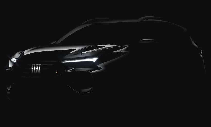 Fiat divulga imagem frontal de seu novo SUV, que será revelado no BBB21