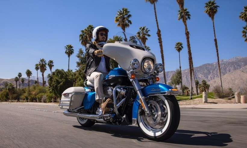 Linha 2021 Harley-Davidson Electra Glide Revival: espelho de colecionador