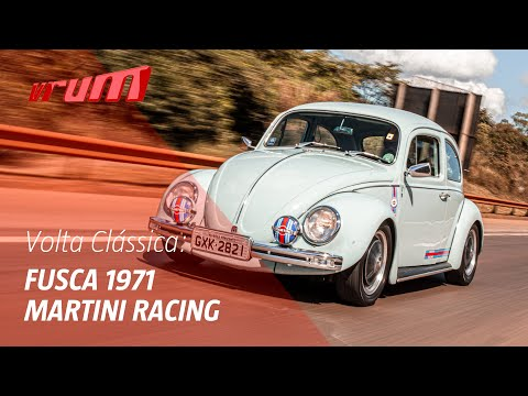 Volta Clássica: Fusca 1971 Martini Racing