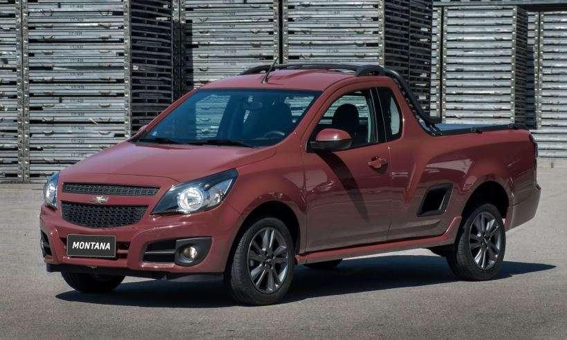 Chevrolet Montana deixa de ser fabricada para ceder espaço a nova picape