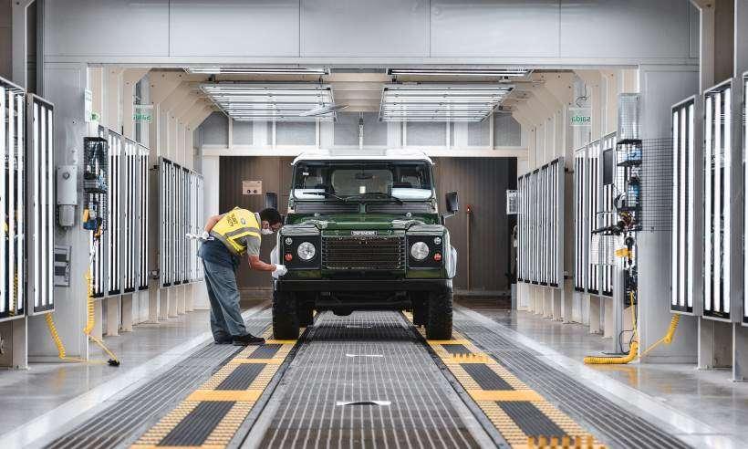 Jaguar Land Rover vai restaurar clássicos das marcas na fábrica de Itatiaia