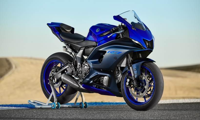Yamaha lança a nova geração da YZF-R7, com chance de ser vendida no Brasil