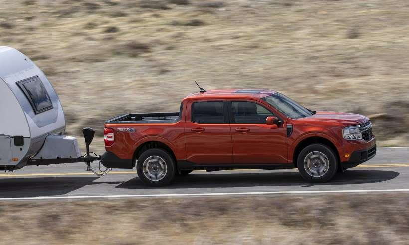 Ford Maverick agora é uma picape híbrida que será importada para o Brasil