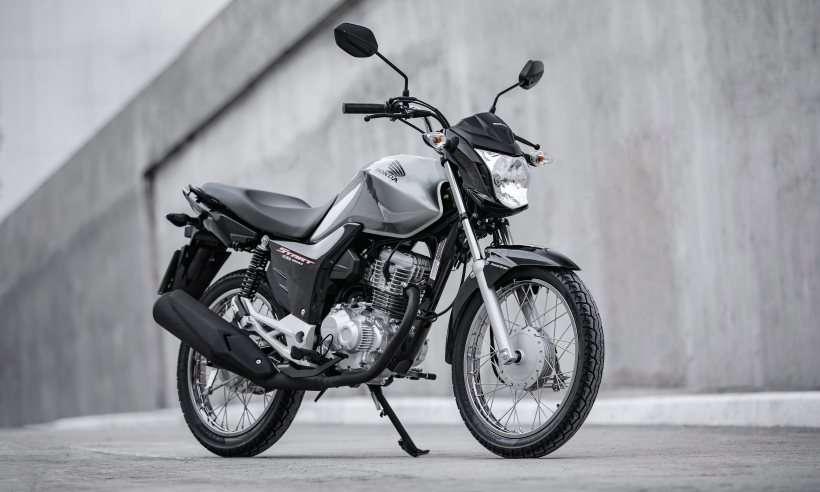 Honda CG 160 comemora 45 anos como modelo mais comercializado do Brasil