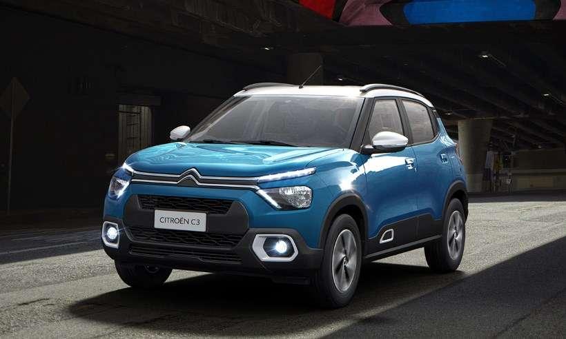 Citroën revela nova geração do C3, que será lançada só no início de 2022