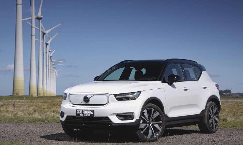 Volvo XC40 Pure Electric, primeiro 100% elétrico da marca, chega ao Brasil