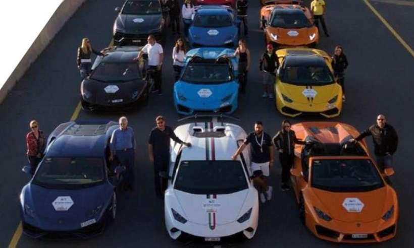 Que tal ir a Dubai e Abu Dhabi para dirigir Ferrari, Lamborghini e McLaren?