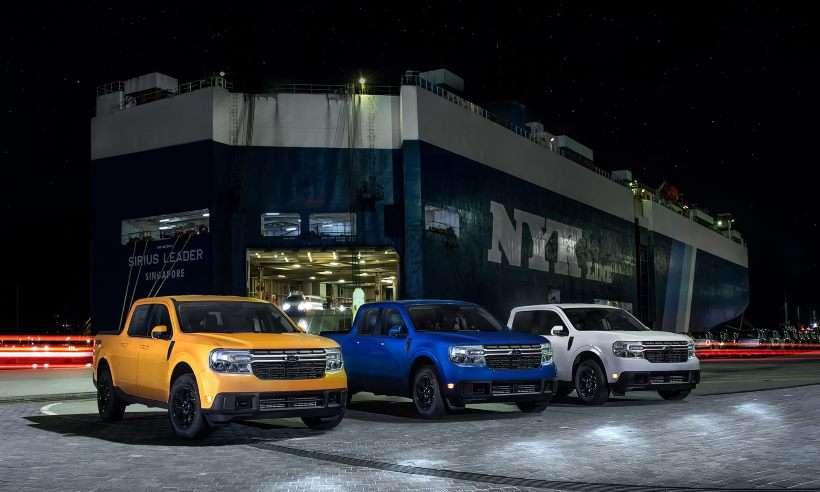 1º lote da picape Ford Maverick chega ao Brasil e antecipa sua configuração